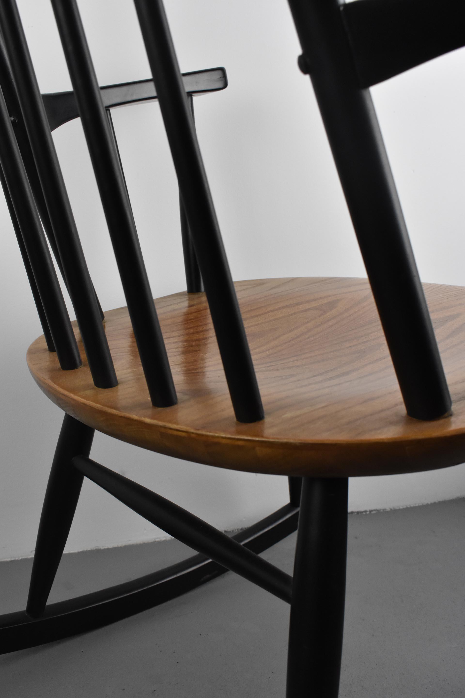 Scandinavisch Design Schommelstoel.Verkocht Schommelstoel Deens Design Jaren 60 Holder Interiors